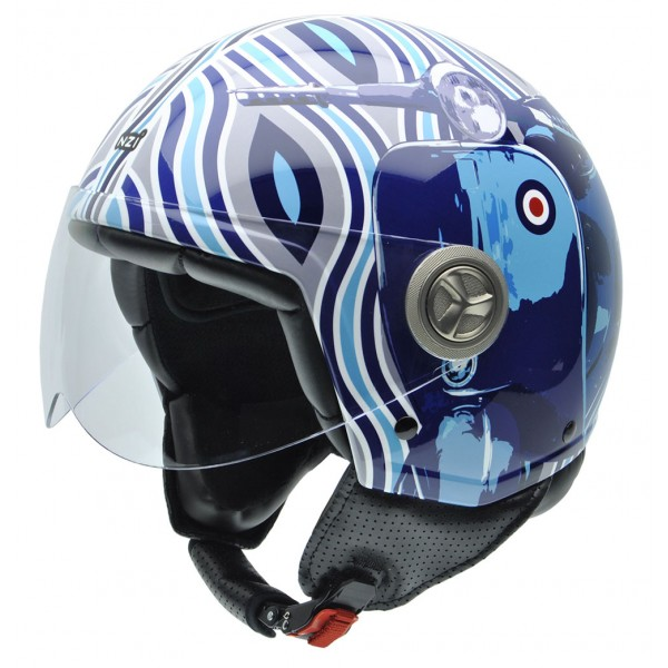 NZI Κράνος Zeta 3D Mod Blue ΚΡΑΝΗ