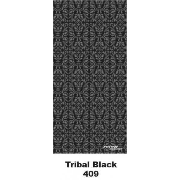 Roleff Φουλάρι Tribal Black RO409
