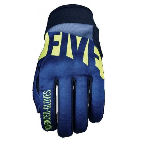 Five Γάντια Globe Replica Gamma Μπλε / Fluo Κίτρινο ΕΝΔΥΣΗ