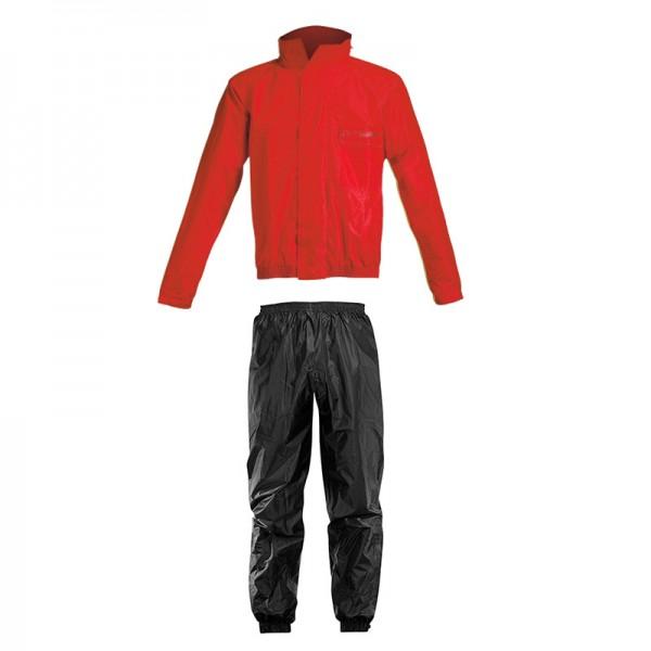 Acerbis Αδιάβροχο Σετ - Rain Suit Logo - Κόκκινο / Μαύρο - 16428.349 ΕΝΔΥΣΗ