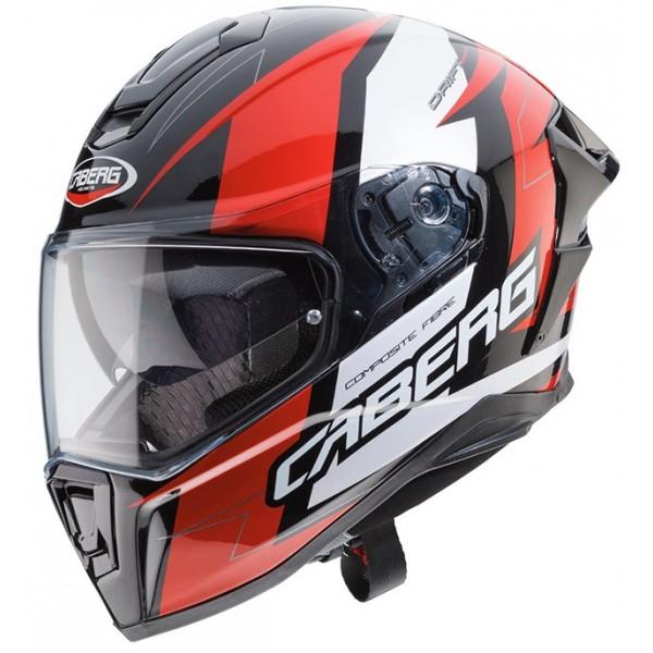 Caberg Κράνος Drift Evo Speedster Μαύρο/Κόκκινο/Άσπρο ΚΡΑΝΗ