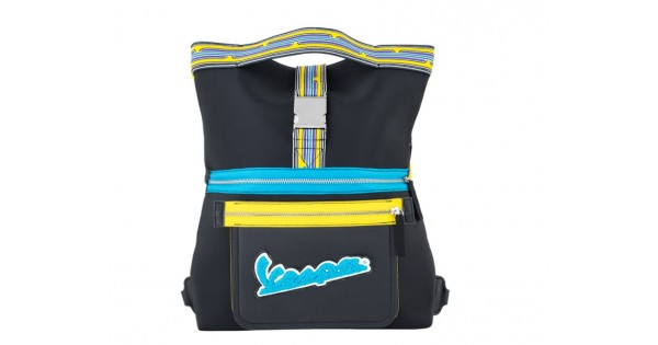 15bbe0f7c8 Vespa τσάντα V-Stripes κίτρινη