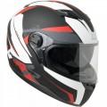 CGM Κράνος Atlanta 308X Μαύρο Ματ/Άσπρο/Κόκκινο ΚΡΑΝΗ