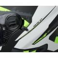 CGM Κράνος Atlanta 308X Μαύρο Ματ/Άσπρο/Πράσινο ΚΡΑΝΗ