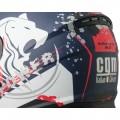 CGM Κράνος Lion 315G Μπλε Ματ/Άσπρο/Κόκκινο ΚΡΑΝΗ
