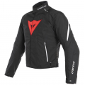 Dainese Μπουφάν Laguna Seca 3 D-Dry Black/Lava-Red/White ΕΝΔΥΣΗ