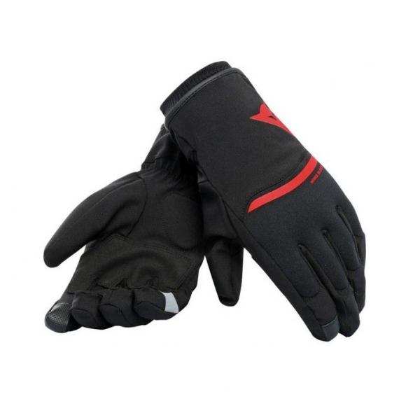 Dainese Γάντια Plaza 2 D-Dry Men Black/Red ΕΝΔΥΣΗ
