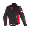 Dainese Μπουφάν Racing 3D D-Dry Black/White/Fluo red ΕΝΔΥΣΗ