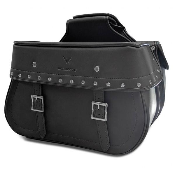 Nordcode Πλαϊνές Τσάντες Rebel Custom Μαύρες 40 lt Soft Bags / Σαμάρια