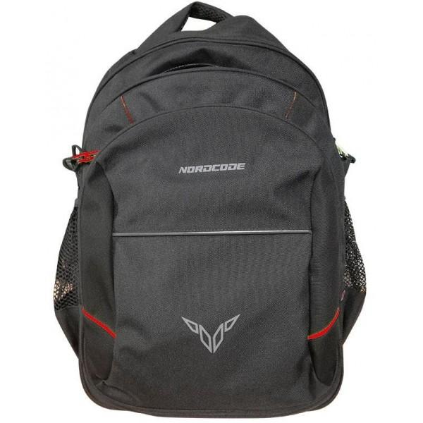 Nordcode Σακίδιο Πλάτης Rider Bag Μαύρο/Κόκκινο Σακίδια Πλάτης