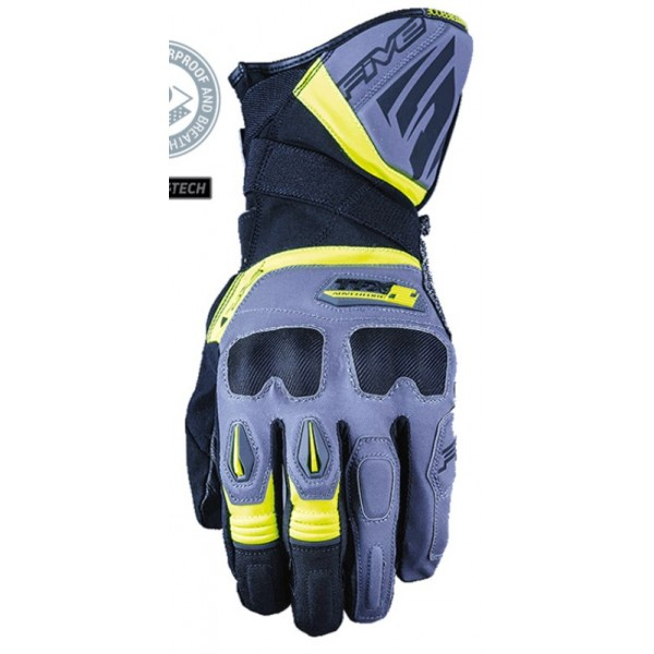 Five Γάντια TFX2 WP Γκρι / Fluo Κίτρινο ΕΝΔΥΣΗ