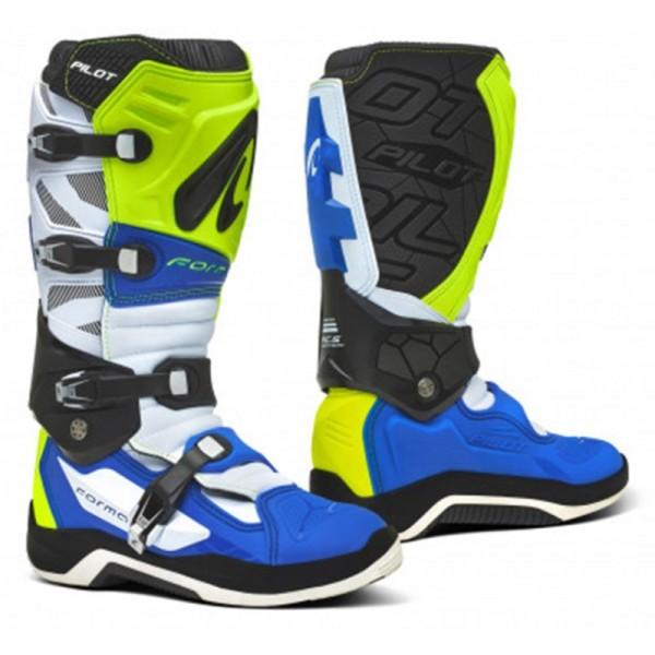 Forma Μπότες Pilot Blue/White/Yellow/Fluo ΕΝΔΥΣΗ