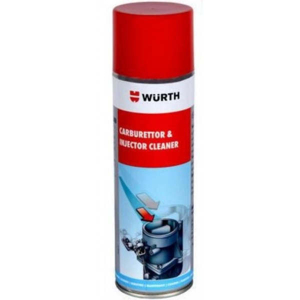 Wurth Σπρέυ Καθαριστικό Καρμπιρατέρ και Injection 500ml Σπρέϊ & Καθαριστικά