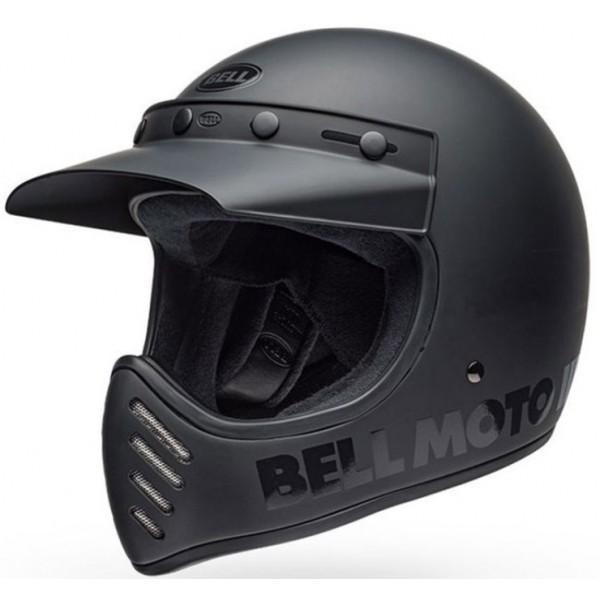 Bell Κράνος Moto 3 Classic 2019 Μαύρο Matt / Gloss ΚΡΑΝΗ