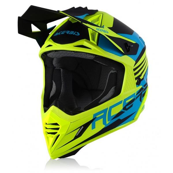 Acerbis Κράνος X-Racer VTR turquoise/fluo 23901.462 ΚΡΑΝΗ